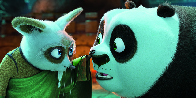 Po becomes teacher of the furious five in kung fu panda 3 - Kung fu panda shifu ...