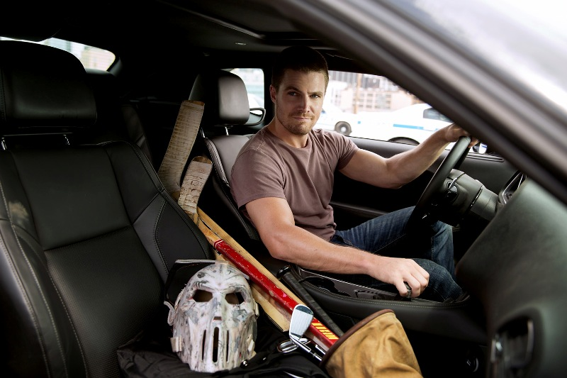Tmnt 2 Highlights Quot Arrow S Quot Stephen Amell In Casey Jones