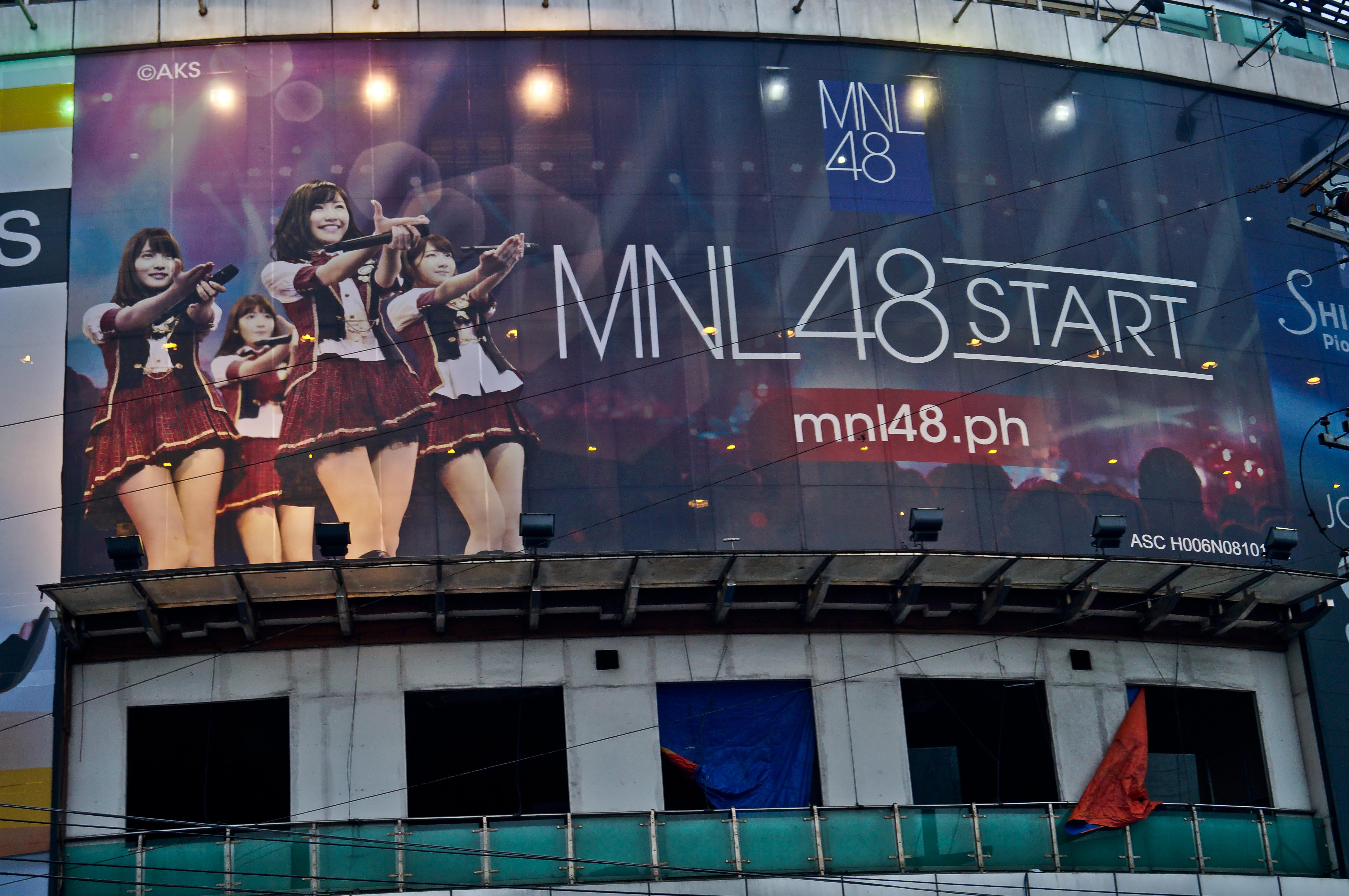 The Search  Continues for MNL48 with Billboards Now Up
