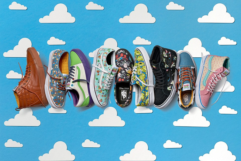 6bca05599ed603 Vans Collaborates with Pixar for Epic Vans x Toy Story Shoes and  Accessories - The Fanboy SEO