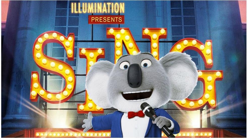 תוצאת תמונה עבור sing movie poster