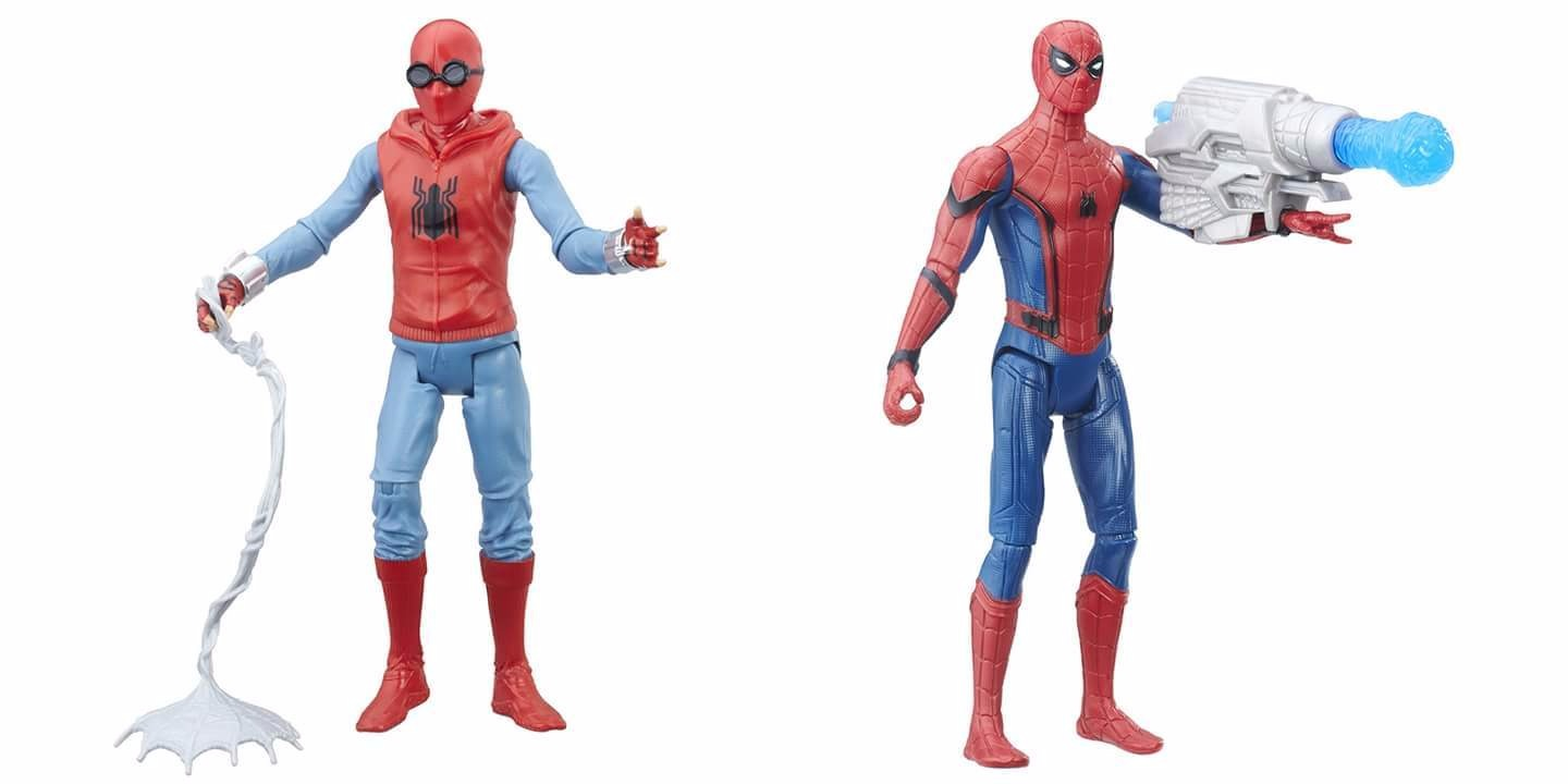 Toys From Hasbro : First wave of spider man homecoming toys from hasbro