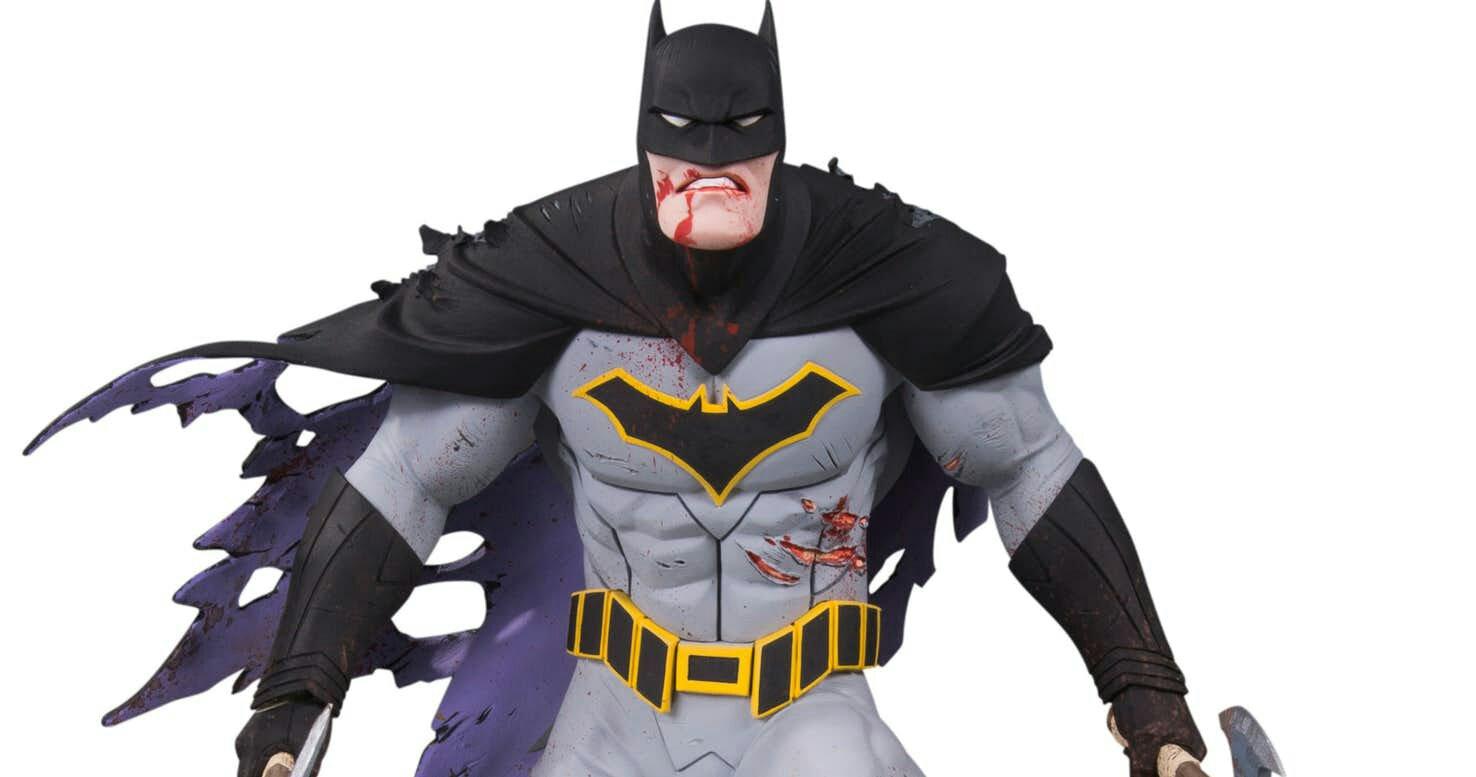 Dc Collectibles Goes Metal With Dark Nights Metal Batman