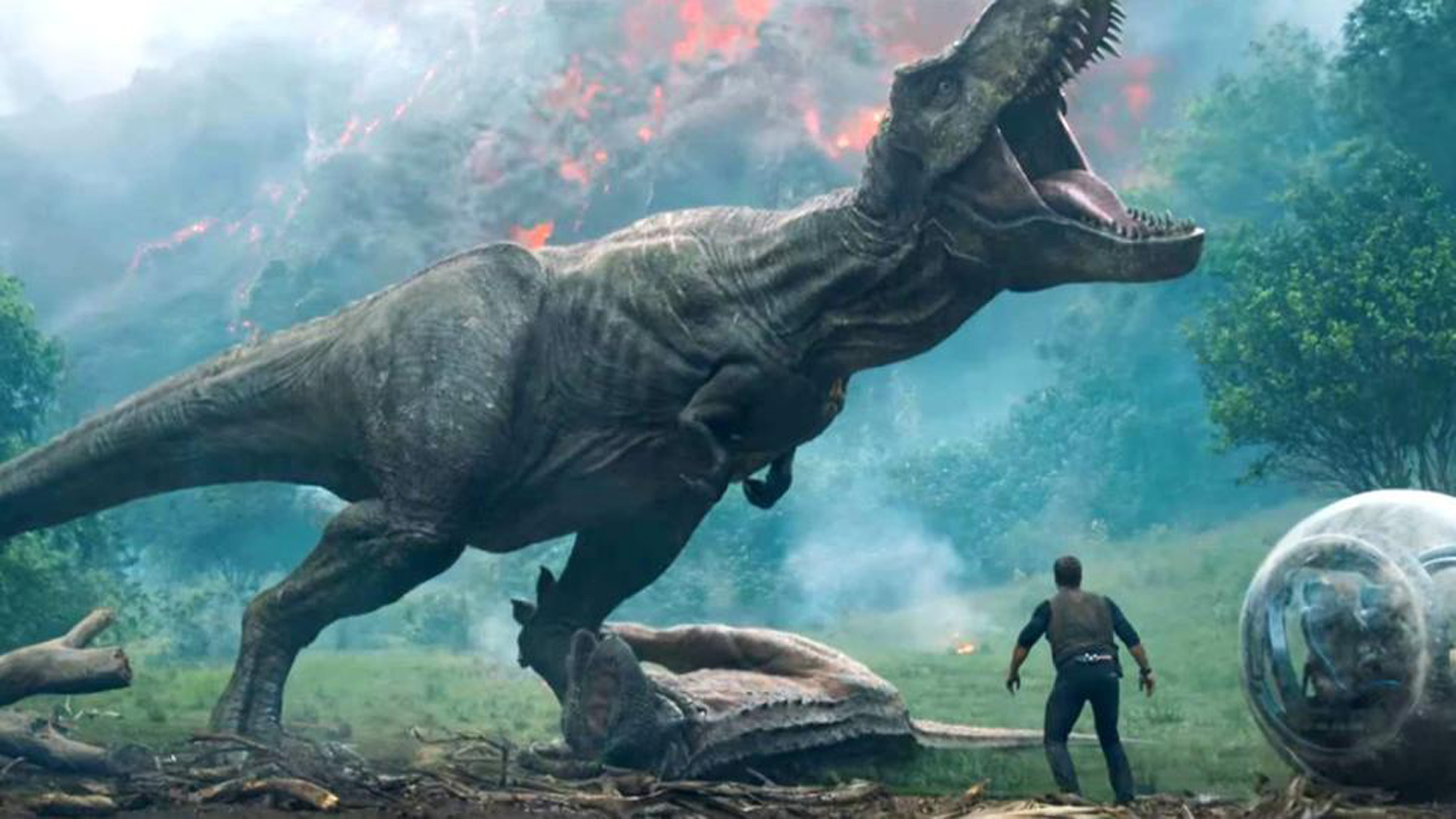 jurassic world fallen kingdom trailer puts man dinosaurs in peril the fanboy seo. Black Bedroom Furniture Sets. Home Design Ideas